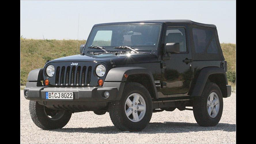 Die Freiheitsmaschine: Jeep Wrangler Sport 2.8 CRD im Test