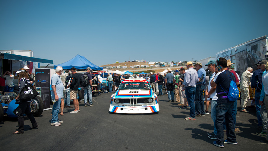 Monterey Car Week 2016 - Anciennes et nouvelles BMW se retrouvent sur le circuit Laguna Seca