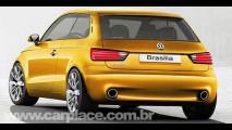 Mais uma releitura do passado - Designer mostra como seria a Nova VW Brasilia