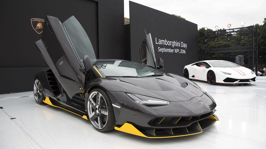 Lamborghini marks 30 years of carbon fiber usage with  Tokyo event