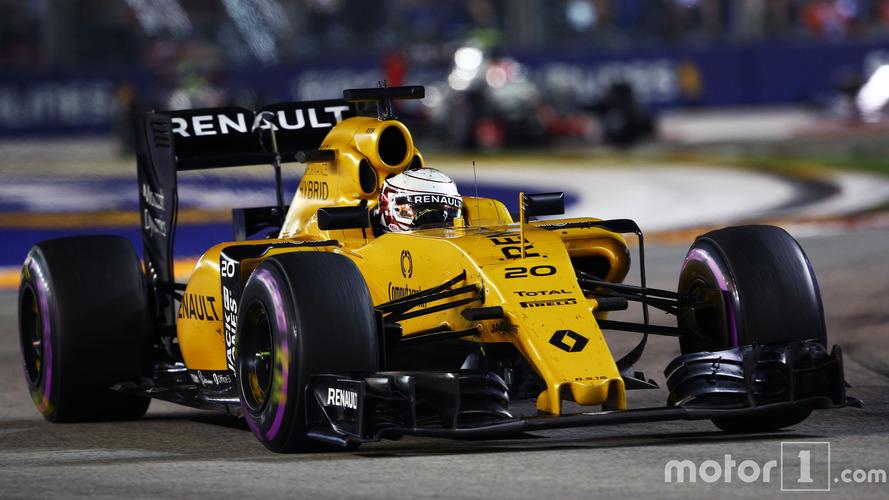 Premier point depuis le mois de mai pour Renault Sport F1 Team