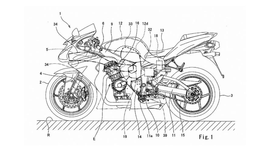 Kawasaki - Une nouvelle 600cc à compresseur en préparation