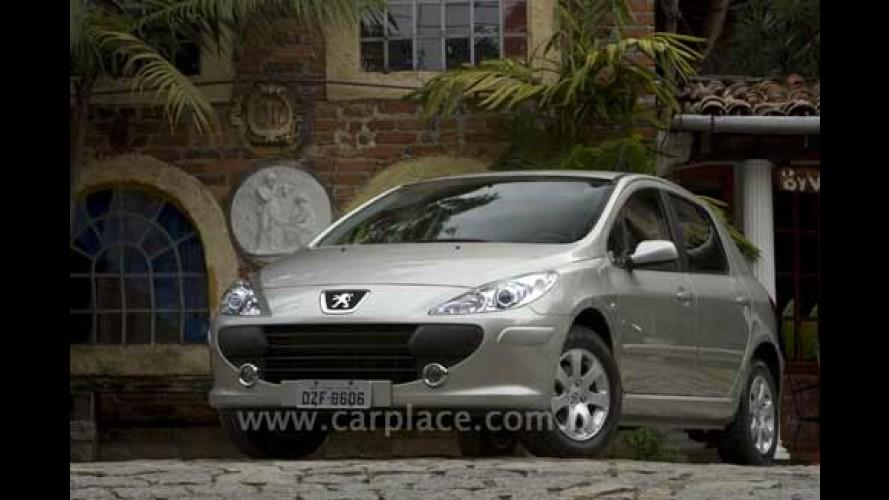 Peugeot 307 2009 com motor 2.0 Flex bicombustível chega por R$ 69.900